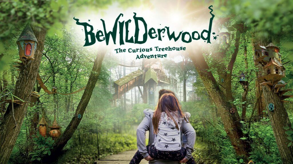 BeWILDerwood Cheshire near The Pheasant Inn